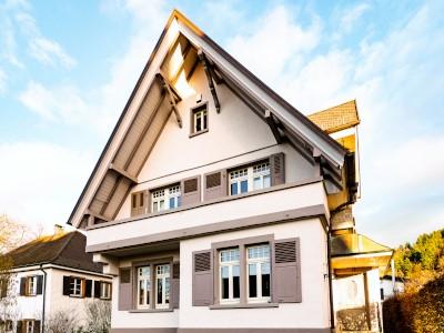 Referenzbild eines verkauften freistehenden Einfamilienhauses in Freiburg im Breisgau