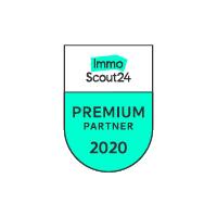 Siegel von immoScout24 für die Premium Partnerschaft 2020