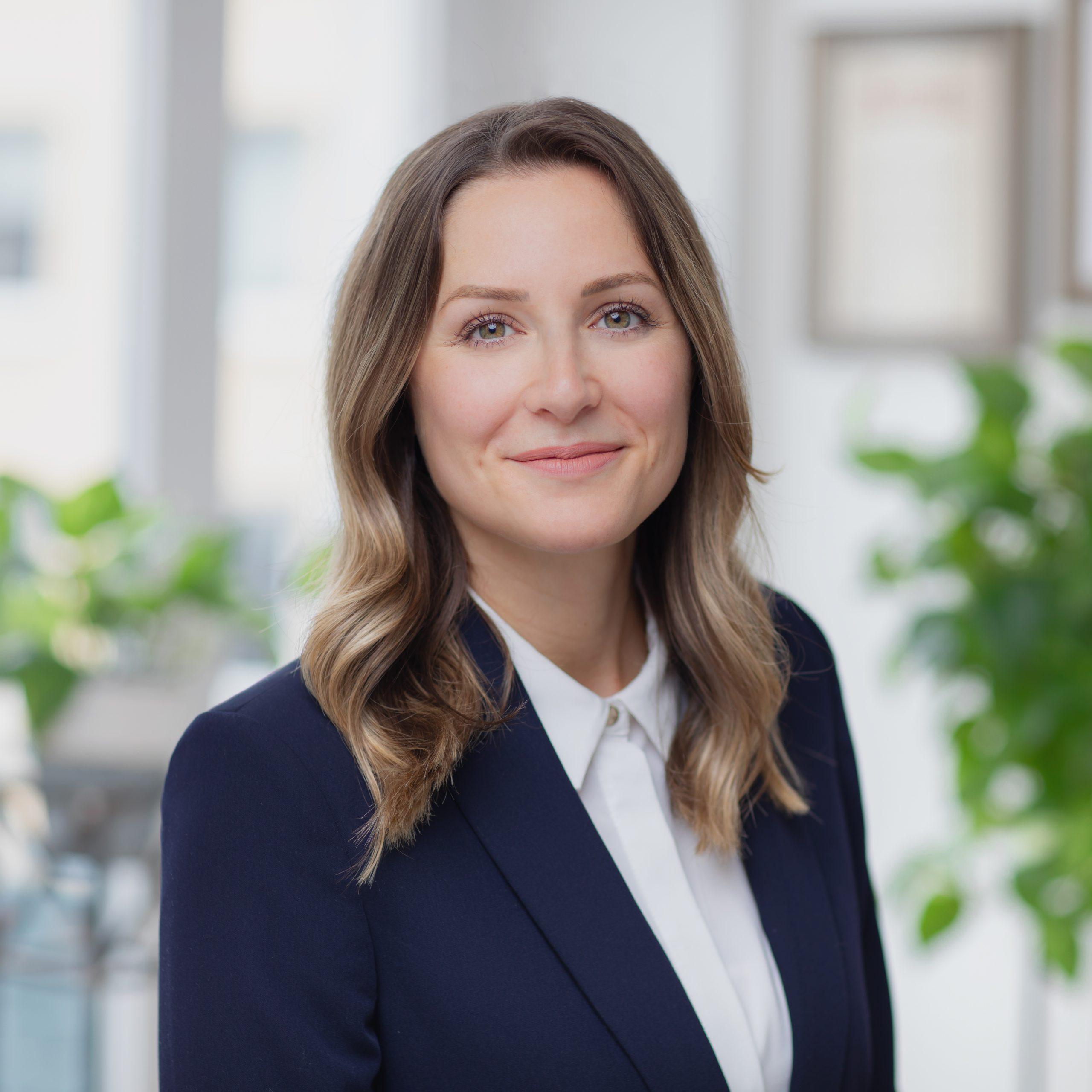 Mitarbeiterin Sarah Moskal