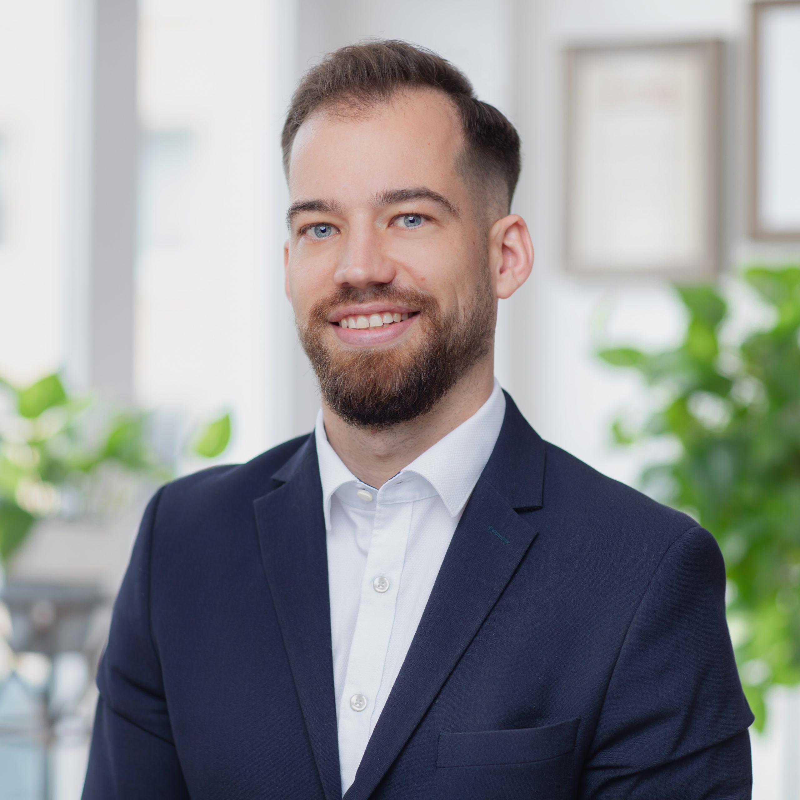 Mitarbeiter Sebastian Kronmeier