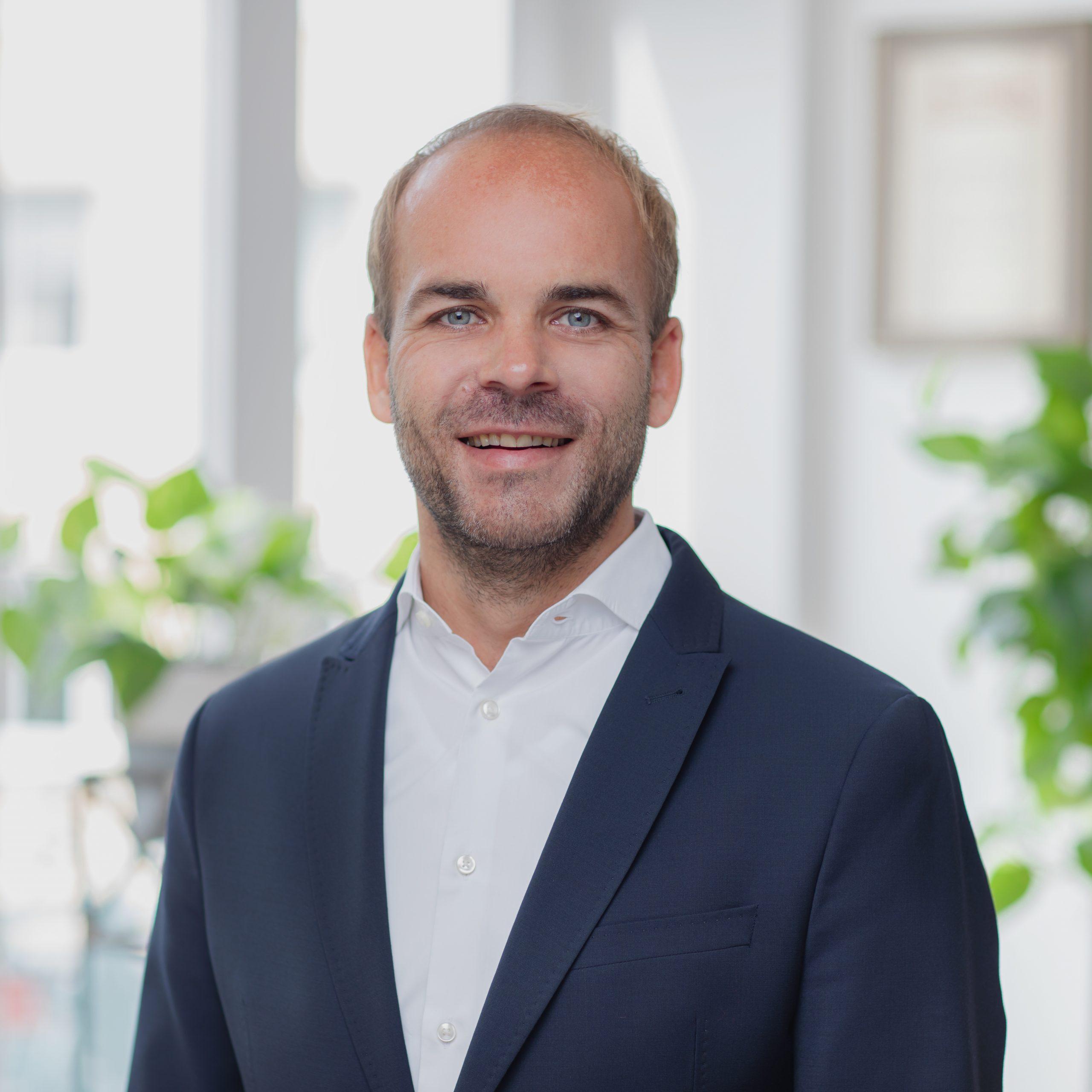 Mitarbeiter Florian Busch