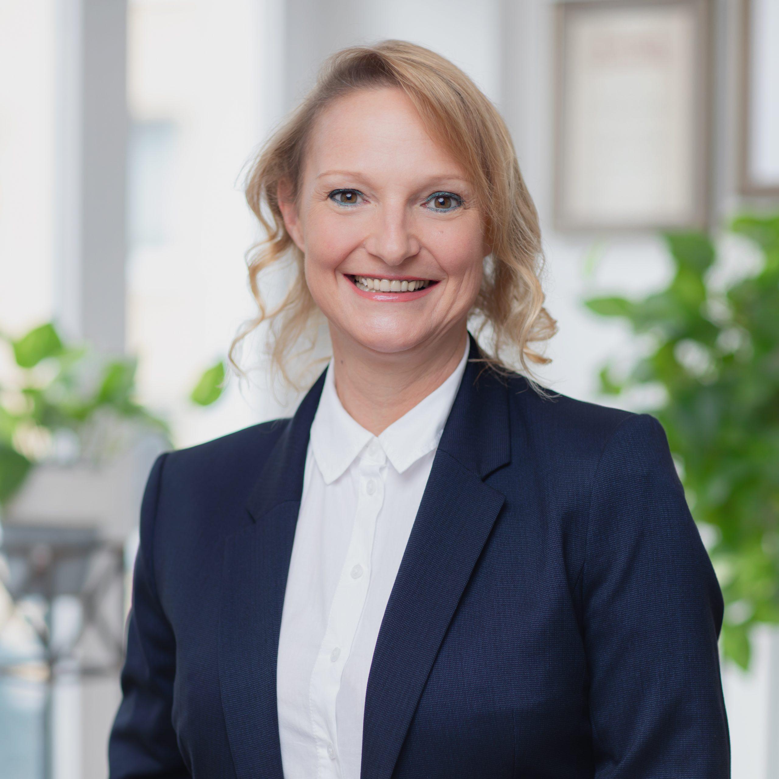Mitarbeiterin Alexandra Küppers