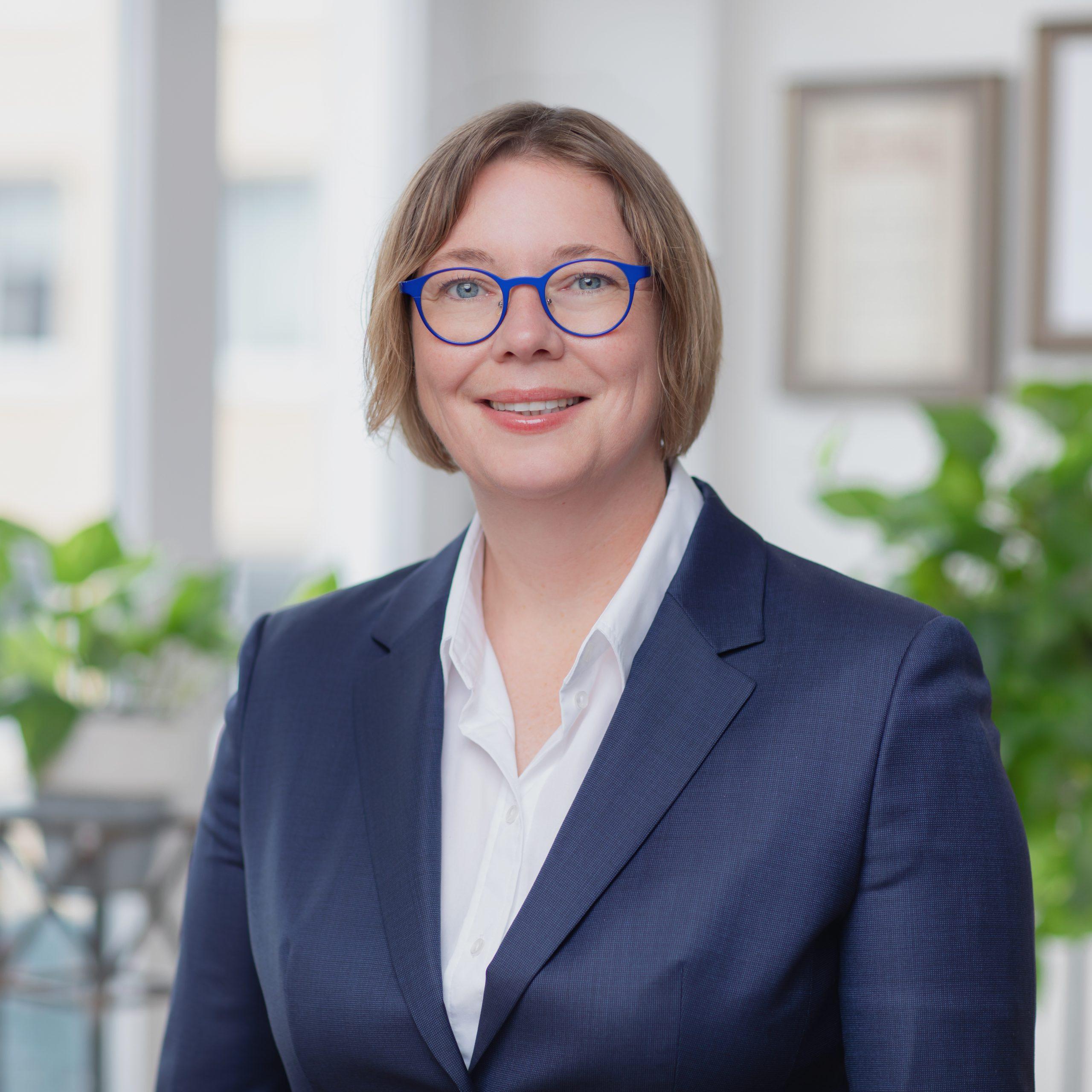 Mitarbeiterin Christina Günther
